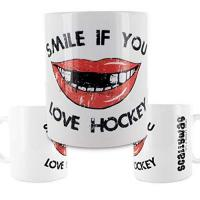 ERC Ingolstadt Scallywag® Eishockey Tasse Hockey Smile I A BRAYCE® Collaboration (Kaffeetasse als Hockey Geschenk)