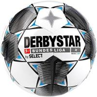 Oostende Derbystar Kinder Bundesliga Magic Light Fußball, weiß schwarz blau, 5