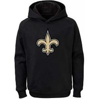 Orleans NFL Youth Team Color Performance Primary Logo Pullover Sweatshirt Hoodie (X-Large 18/20, New Orleans Saints)