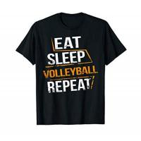 VCO Berlin Eat Sleep Volleyball Repeat for Volleyball players & Trainee T-Shirt