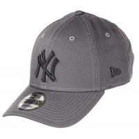 New York Mets New Era New York Yankees MLB Cap 9forty Verstellbar Baseball Grau Schwarz - One-Size