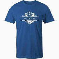 Auxerre Sporting Empire Kinder Fußball-T-Shirt Auxerre 1905 Gr. X-Large, königsblau
