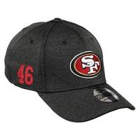 San Francisco Giants New Era San Francisco 49ers 39thirty Stretch Cap NFL Established Number Black - M - L