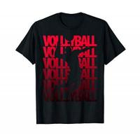 United Volleys Frankfurt Vintage Volleyballer Evolution Beach Volleyball Spieler T-Shirt