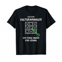 Geschenke für Kulturmanager/in Kulturmanager T-Shirt