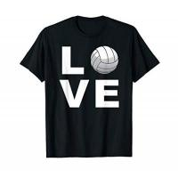 SVG Lüneburg Volleyball Gifts for Player & Coach - Love Volleyball T-Shirt