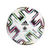 Cosenza Calc adidas Men's UNIFO LGE XMS Soccer Ball, White/Black/Signal Green/Bright Cyan, 4