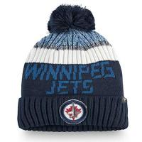 Winnipeg Jets Fanatics NHL Winnipeg Jets Wollmütze Authentic Pro Rinkside Goalie Cuffed Knit Hat with Pom Mütze