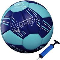 Wacker Thun Kempa handball Spectrum Primo Top Training & Spielball blau + Ballpumpe (1)