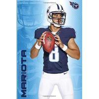 Tennessee Titans Marcus Mariota Tennessee Titans Lined Notebook Journal, 100 Pages (6 x 9 Inches) Blank Ruled Writing Journal With Inspirational Quotes, Perfect Diary ... for Father Day Mother Day Family Ideas .
