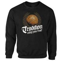 Lokeren Fussball Tradition Ultras Fanatics schwarz Pullover Sweatshirt (L)