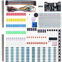 Geschenke für Elektroniker für Maschinen und Antriebstechnik/in ELEGOO Electronic Fun Kit Breadboard Kabel Widerstand Kondensator LED Potentiometer für Elektronik Learning Kit, Kompatibel mit Arduino IDE, UNO R3, MEGA2560, Raspberry Pi Sortiment