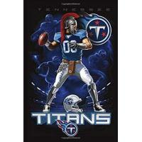 Tennessee Titans Tennessee Titans Birthday Reminder Lined Notebook Journal, 100 Pages (6 x 9 Inches) Blank Ruled Writing Journal With Inspirational Quotes, Perfect ... Ideas .: Best Gift Tennessee Titans Fan