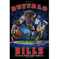 Buffalo Bills Buffalo Bills School Timetable Lined Notebook Journal, 100 Pages (6 x 9 Inches) Blank Ruled Writing Journal With Inspirational Quotes, Perfect Diary ... Family Ideas .: Best Gift Buffalo Bills Fan