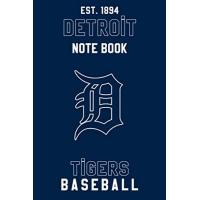 Detroit Tigers Detroit Tigers : Detroit Tigers Notebook & Journal - MLB Fan Essential : MLB Sport Notebook - Journal - Diary: Detroit Tigers Fan Appreciation - 110 pages | Size: 6 x 9 Inch