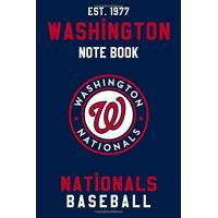 Washington Nationals Washington Nationals : Washington Nationals Notebook & Journal - MLB Fan Essential : MLB Sport Notebook - Journal - Diary: Washington Nationals Fan Appreciation - 110 pages | Size: 6 x 9 Inch