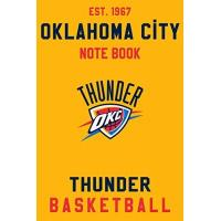 Oklahoma City Thunder Oklahoma City Thunder : Oklahoma City Thunder Notebook & Journal - NBA Fan Essential : NBA Basketball Sport Notebook - Journal - Diary: Oklahoma City ... Appreciation - 110 pages | Size: 6 x 9 Inch