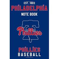 Philadelphia Phillies Philadelphia Phillies : Philadelphia Phillies Notebook & Journal - MLB Fan Essential : MLB Sport Notebook - Journal - Diary: Philadelphia Phillies Fan Appreciation - 110 pages | Size: 6 x 9 Inch