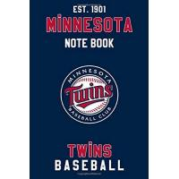 Minnesota Twins Minnesota Twins : Minnesota Twins Notebook & Journal - MLB Fan Essential : MLB Sport Notebook - Journal - Diary: Minnesota Twins Fan Appreciation - 110 pages | Size: 6 x 9 Inch