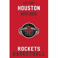 Houston Rockets Houston Rockets : Houston Rockets Notebook & Journal - NBA Fan Essential : NBA Basketball Sport Notebook - Journal - Diary: Houston Rockets Fan Appreciation - 110 pages   Size: 6 x 9 Inch
