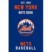 New York Mets New York Mets : New York Mets Notebook & Journal - MLB Fan Essential : MLB Sport Notebook - Journal - Diary: New York Mets Fan Appreciation - 110 pages | Size: 6 x 9 Inch