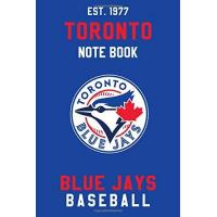 Toronto Blue Jays Toronto Blue Jays : Toronto Blue Jays Notebook & Journal - MLB Fan Essential : MLB Sport Notebook - Journal - Diary: Toronto Blue Jays Fan Appreciation - 110 pages   Size: 6 x 9 Inch
