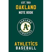 Oakland Athletics Oakland Athletics : Oakland Athletics Notebook & Journal - MLB Fan Essential : MLB Sport Notebook - Journal - Diary: Oakland Athletics Fan Appreciation - 110 pages | Size: 6 x 9 Inch