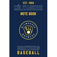 Milwaukee Brewers Milwaukee Brewers : Milwaukee Brewers Notebook & Journal - MLB Fan Essential : MLB Sport Notebook - Journal - Diary: Milwaukee Brewers Fan Appreciation - 110 pages | Size: 6 x 9 Inch