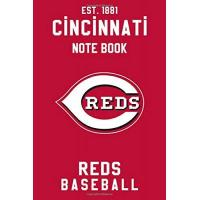 Cincinnati Reds Cincinnati Reds : Cincinnati Reds Notebook & Journal - MLB Fan Essential : MLB Sport Notebook - Journal - Diary: Cincinnati Reds Fan Appreciation - 110 pages | Size: 6 x 9 Inch