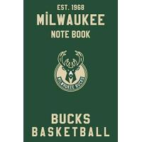 Milwaukee Bucks Milwaukee Bucks : Milwaukee Bucks Notebook & Journal - NBA Fan Essential : NBA Basketball Sport Notebook - Journal - Diary: Milwaukee Bucks Fan Appreciation - 110 pages | Size: 6 x 9 Inch