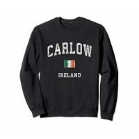 Geschenke aus Carlow Carlow Ireland Vintage Athletic Sports Design Sweatshirt