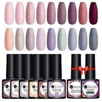 Geschenke für Glasierer/in UR SUGAR 7,5ml UV Nagellack Gel 18+2 Farben Nackt Glasieren Lila Winter Pastell Soak Off Kostenlos Matt Top Coat und Base Coat Soakoff Nagelgel Set
