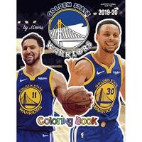 Golden State Warriors Stephen Curry and the Golden State Warriors: The Basketball Coloring and Activity Book: 2019-2020 Season