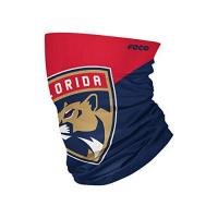 Florida Panthers Foco Florida Panthers NHL Colour Block Big Logo Gaiter Scarf Forever Collectibles - One-Size