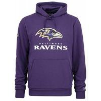 Nationalmannschaft New Era - NFL Baltimore Ravens Team Logo and Name Hoodie - Lila Farbe Lila, Größe M