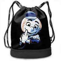 New York Mets JINGS New York Baseball Mr. Met Middle Finger Multifunctional Beam Kordelzug Rucksack Unisex