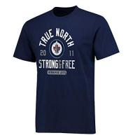 Winnipeg Jets Fanatics NHL T-Shirt Winnipeg Jets Hometown Hockey True Strong North Free Eishockey (S)