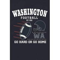 Washington Football Team Washington City Classic Football Arch Notebook: This cool Notebook is for every Washington Football Team lover and athlete! 6x9 inch, 120 pages, blank line, notepad, American football journal