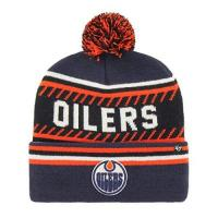 Edmonton Oilers 47 Brand Edmonton Oilers Ice Cap 47 Cuff Knit NHL Beany Beanie One Size Forty Seven
