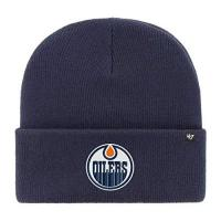Edmonton Oilers 47 Brand Edmonton Oilers Light Navy Haymaker NHL Cuff Knit Beany Beanie One Size Forty Seven