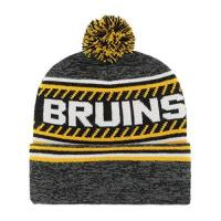 Boston Bruins 47 Brand Boston Bruins Ice Cap 47 Cuff Knit NHL Beany Beanie One Size Forty Seven