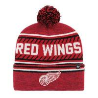 Detroit Red Wings 47 Brand Detroit Red Wings Ice Cap 47 Cuff Knit NHL Beany Beanie One Size Forty Seven
