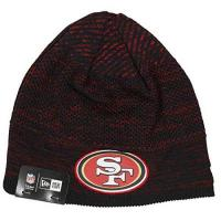 San Francisco 49ers New Era San Francisco 49ers Beanie - NFL 2020 On Field Tech Knit - Black/Red - One-Size