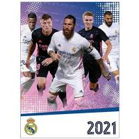 Real Madrid Real Madrid Offizielles 2021 Fußball Kalender 420mm x 297mm (A3)