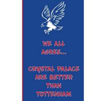 Crystal Palace We All Agree... Crystal Palace Are Better Than Tottenham: Eagles Notebook Football Gift Soccer Journal - Glaziers Funny Notebook For Men And Women ... FC Fans - Lined Notebook Journal as a gift