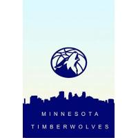 Minnesota Timberwolves MINNESOTA TIMBERWOLVES: (Basketball Club) Notebook / Journal / bloc note - 120 pages 6x9