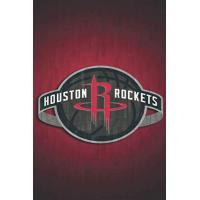 Houston Rockets Houston Rockets: (Basketball Club) Notebook / Journal / bloc note - 110 pages 6x9